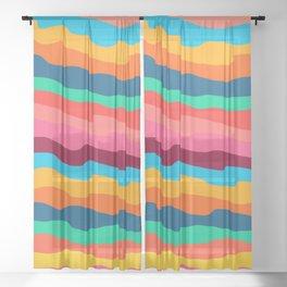 abstractart Sheer Curtain