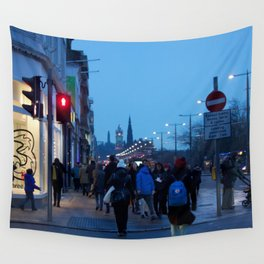 Princes Street Edinburgh 1 Wall Tapestry