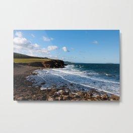 Ocean Coastline Metal Print