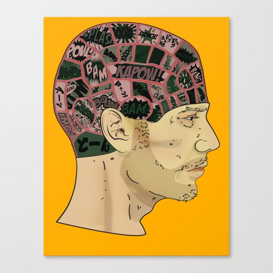 PHRENOLOGY Canvas Print