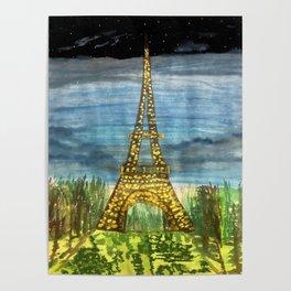 La Paris, oui oui Poster