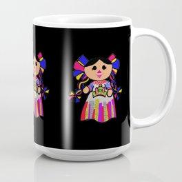 Muñequitas-Taza Negra Coffee Mug