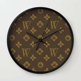 Weed Couture Wall Clock