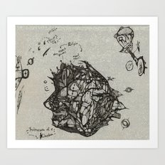Microcosm of a Kingdom Art Print