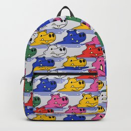 Hippos pattern no2 Backpack