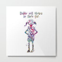 Dobby Metal Print