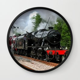 Triple Header Wall Clock