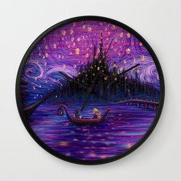 The Lantern Scene Wall Clock