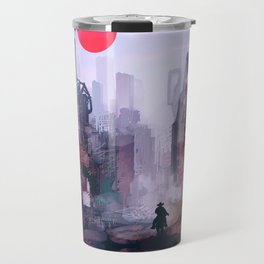 Strange Mornings Travel Mug