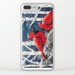 Feathered Friends Clear iPhone Case