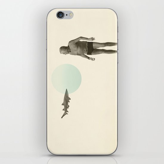 shark bate iPhone & iPod Skin
