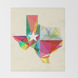 Texas State Of Mind Throw Blanket