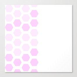 Pink Hex Canvas Print