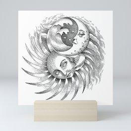Moon and Sun Mini Art Print