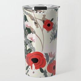 Modern Flower Travel Mug
