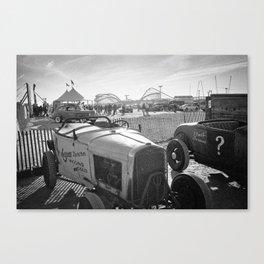 The Race of Gentlemen bw 6 Canvas Print