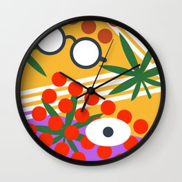 future ISLAND Wall Clock