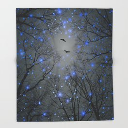 The Sight of the Stars Makes Me Dream Throw Blanket