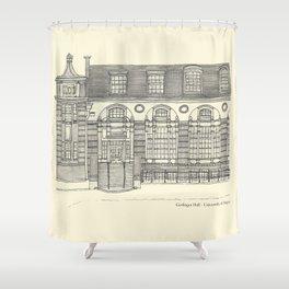 Gerlinger Hall Shower Curtain