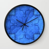 origami Wall Clocks featuring Origami by Lyle Hatch