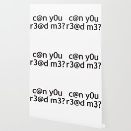 can you read me? Silly Text Wallpaper