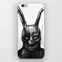 "Donnie Darko Frank The Rabbit ""Only You and Him"" iPhone Skin"