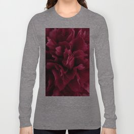 Pink Peony flower Long Sleeve T-shirt