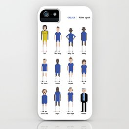 Chelsea - All-time squad iPhone Case