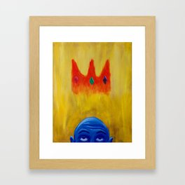 Crown of Glory Framed Art Print