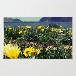 Seaside flowers Rug