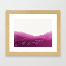 Kust Calling Card Framed Art Print
