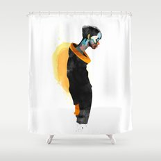 Thanatos Shower Curtain