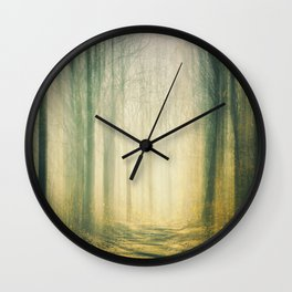 Forest of Surrealism III Wall Clock