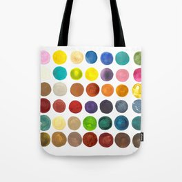 create peace with each step.  Tote Bag