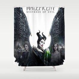 Maleficen Mistress of Evil Shower Curtain