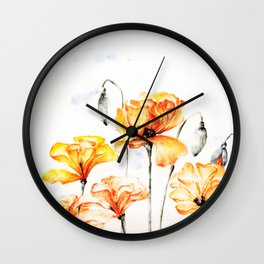 Springful thoughts Wall Clock
