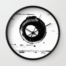 ABSTRACT VIEW NO. 17 Wall Clock