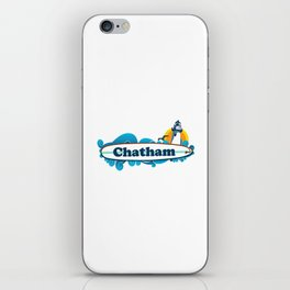 Chatham Ligthhouse  iPhone Skin