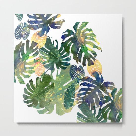 tropical leaves II Metal Print
