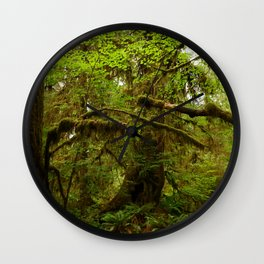 The Opulence Of The Rainforest Wall Clock