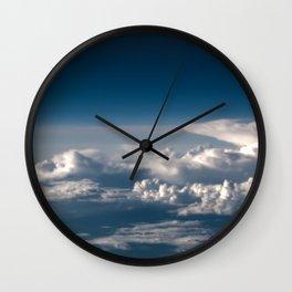 Head Clouds I Wall Clock