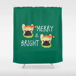 Merry And Bright! Shower Curtain