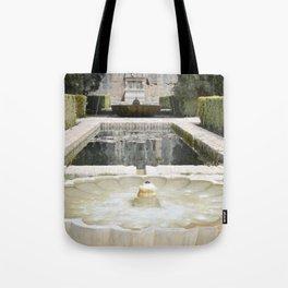Two Moorish Fountains Tote Bag