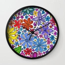 Lake Villa Garden Wall Clock
