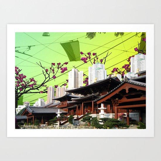 Beautiful China Art Print