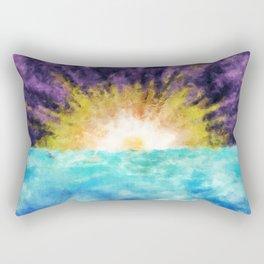 Sunrise At The Edge of Earth Rectangular Pillow