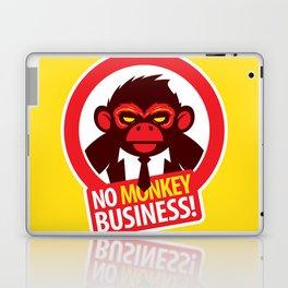 No MONKEY Business! Laptop & iPad Skin