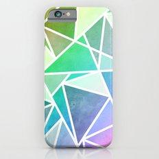 Rainbow Fractal  iPhone 6 Slim Case