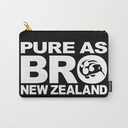 Pure as BRO  New Zealand Kiwi Carry-All Pouch