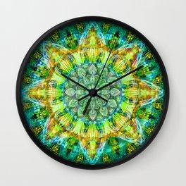 Mandala No. 132 Wall Clock